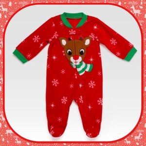 Other - 🎄New🎄Rudolph Sleeper 🎁 Romper 🎁